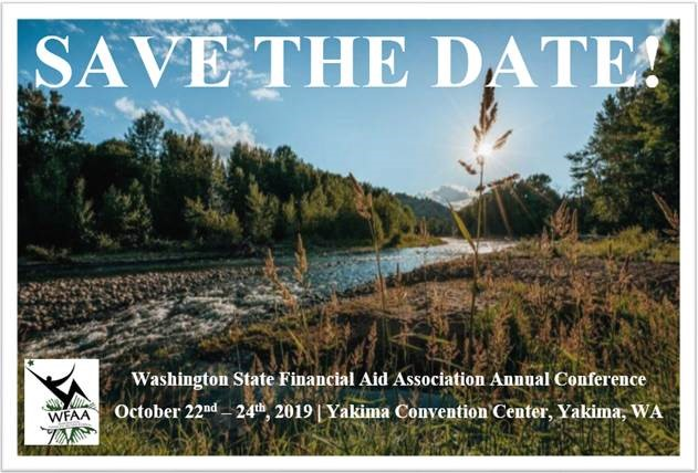 image of the save the date for the 2019 conference